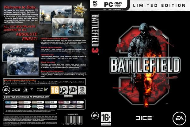 (Picture of BF3 box art is courtesy of BF3 Blog). News image. Battlefield 3